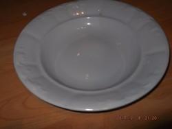 Zsolnay régi mély tányér