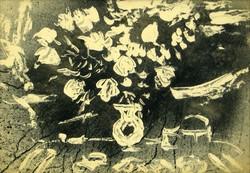 Vinkler László : Rózsák vázában