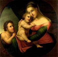 Raffaello után XIX. század : Madonna Della Sedia