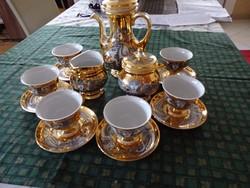 Hollóházi Szász Endre kávéskészlet