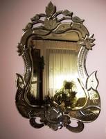 Antique unique Venetian (murano) mirror