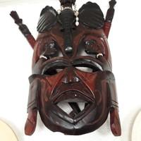 Kenyai Maszáj 50x35cm nagy mask