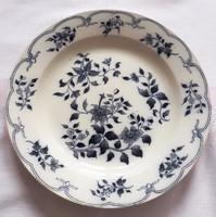 Villeroy & Boch kék - fehér tányér, nagy 27,5 cm