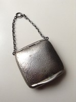 Antik angol ezüst szelence