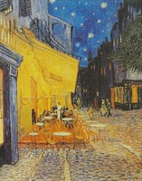 0P207 Vincent Van Gogh repro The cafe terrace