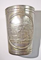 Berchtesgaden ezüstözött pohár