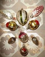 Antik eredeti Orosz karácsonyfa díszek