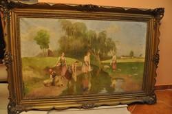 Nagy Vilmos 1874-1953 festőművész, grafikus képe