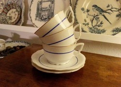 Régi, antik, Zsolnay teás csészék