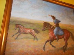 Hortobágyi  Olaj  festmény
