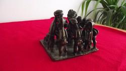 Bronz archaikus afrikai kisplasztika