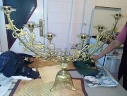 Regi menora  bronz es rez