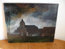 Léon Van Bulcke belga festő egyik képe