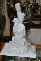 Kerámia figurális asztali lámpa