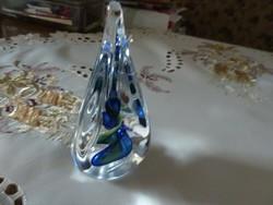 Csodálatos  3D hatású valódi kristály asztali dísz, ajándéknak is kitűnő!