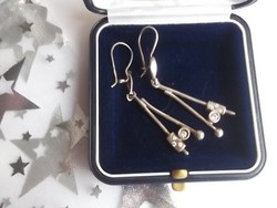 Dekoratív ezüst fülbevaló 925-ös,fémjel -ajándékba is