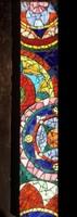 Színes üvegmozaik falikép