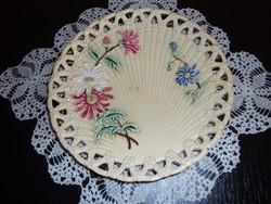 Josef Steidl majolika süteményes tányér