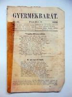 Gyermekbarát 1862 december 4 RÉGI ÚJSÁG 525