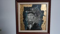 Eredeti !!! Szász Endre festmény certifikációval !
