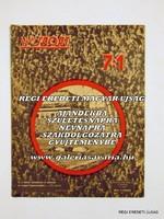 RITKASÁG! KÉPES SPORT 7:1 Magyarország -Anglia I. ÉVFOLYAM 2. SZÁM 1954 május 25 RÉGI ÚJSÁG