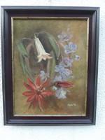 Csendélet virág vászon
