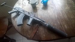 Gorkij-65 Gàz - Riasztó fegyver  AMD 65 Gépkarabély Géppisztoly Puska