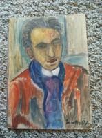 Márffy Ödön Férfi portré