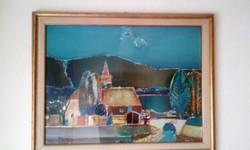 Gaál Domokos festmény