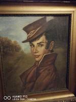 Gróf Batthyány Gyula :Batthyány Bálint portré