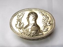 Pazar Napóleon ezüst szelence!