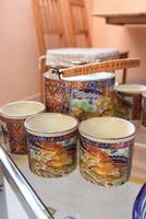 Távol-Keleti japán teáskészlet 6+1 db