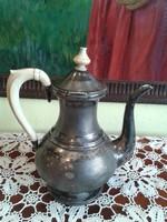 Anitk ezüst teáskanna