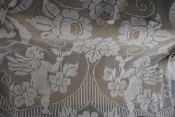 Szecessziós hatalmas kézzel horgolt angyalkás puttós függöny ágytakaró ágyterítő 260 x 205