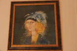 Szász Endre - Női portré