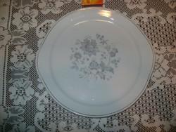 Régi porcelán süteményes tányér, kínáló tányér