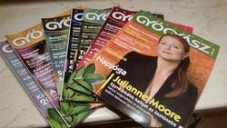 Természet Gyógyász magazin 2009-2010-ig.7 db