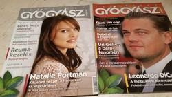 Természet Gyógyász magazin 2008 év.2 db