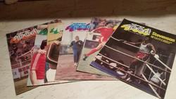 Képes Sport 1978 év 6 db eladó!
