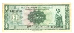 1 guarani 1952 / 1963 Paraguay