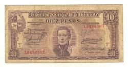 10 pesos 1939 Uruguay