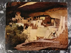 Szikla palota - Mesa Verde Nemzeti Park (USA) - 18 x 23 cm.