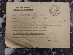 Felszólítás eboltásra - XIV.ker. Tanács Végrehajtó Bizottsága - 1959