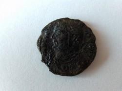 Licinius I. szép follis. Ritka, balra nézős uralkodóval.