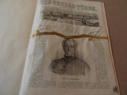 AZ ORSZÁG TÜKRE BUDAPESTI KÉPES KÖZLÖNY1862-ES ÉV  9.SZÁM