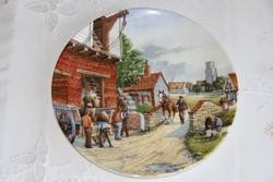 Royal Doulton dísztányér - Journey through the Village 3.