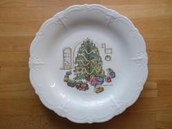 Tirschenreuth Bavaria Baronesse karácsony témájú mintázatú tányér