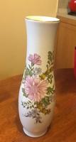 Exkluziv, gyönyörű Zsolnay virágos váza
