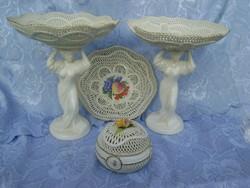 Alföldi szecessziós antik porcelán szett 100 %-ban kézzel készített