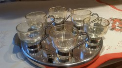 Antique coffee set with tray for sale!